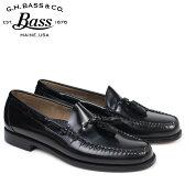 G.H. BASS ローファー ジーエイチバス メンズ ペニー タッセル LEXINGTON TASSEL WEEJUNS 70-10904 靴 ブラック [6/22 新入荷]