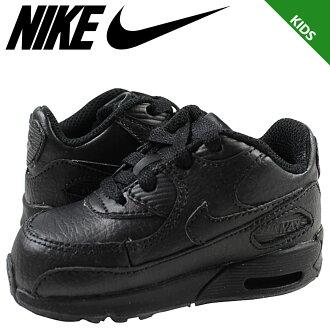 耐克 NIKE Air Max 運動鞋嬰兒孩子空氣馬克斯 90 TD Air Max 90 408110-002 鞋黑