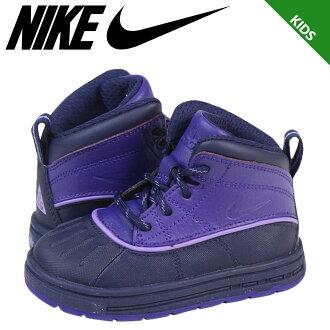 Nike 耐克嬰兒孩子林邊 2TD 高球鞋林邊蹣跚學步橡膠初中孩子嬰兒學步車 524878-500 紫色