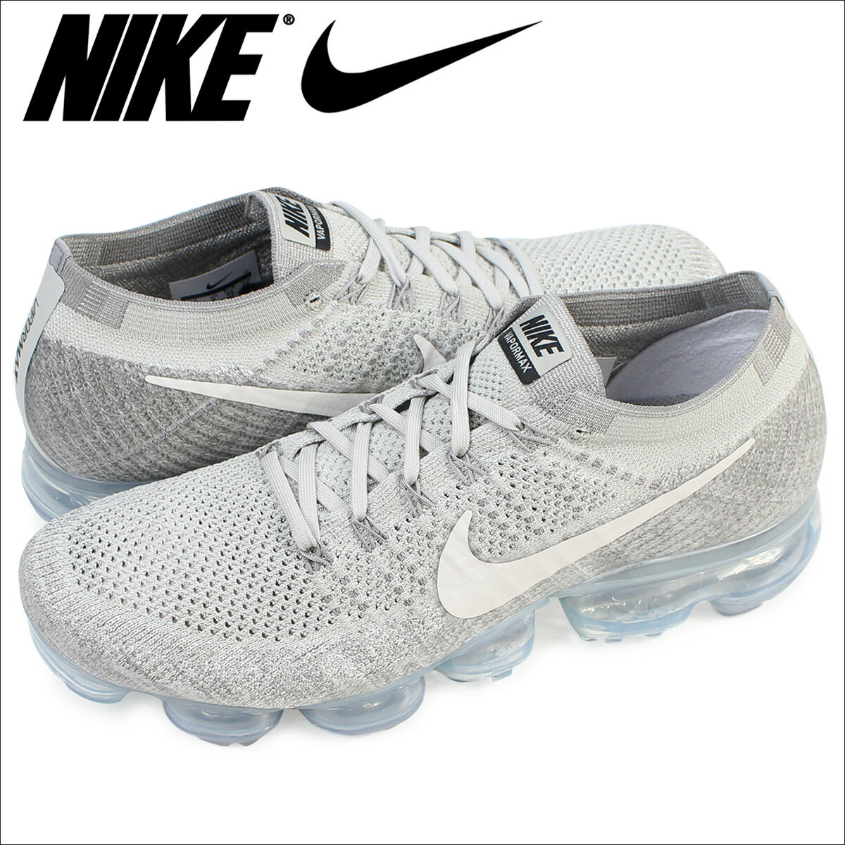 [SOLD OUT] ナイキ NIKE エア ヴェイパーマックス フライニット スニーカー  AIR VAPORMAX FLYKNIT  メンズ 849558-005 靴 グレー [6/21 新入荷]:Whats up Sports