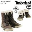 Timberland ティンバーランド キッズ YOUTH KNIGHTS CORSAGE ROLL TOP ブーツ ナイツ コサージュ ロールトップ 29742 ブラウン 【9000足】