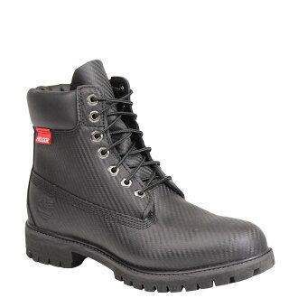 天伯倫天伯倫男式 6 英寸 PRM HELCOR 碳纖維引導靴子 6 英寸溢價她車碳纖維 6605A W 明智黑色