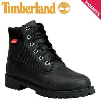天伯倫天伯倫女子初中 6 英寸 PRM HELCOR 碳纖維引導靴子 6 英寸溢價她車碳纖維 9592R W 明智黑色