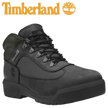 【最大600円OFFクーポン】 Timberland WATERPROOF FIELD BOOTS F/L ティンバーランド ブーツ メンズ A1A12 Dワイズ ブラック