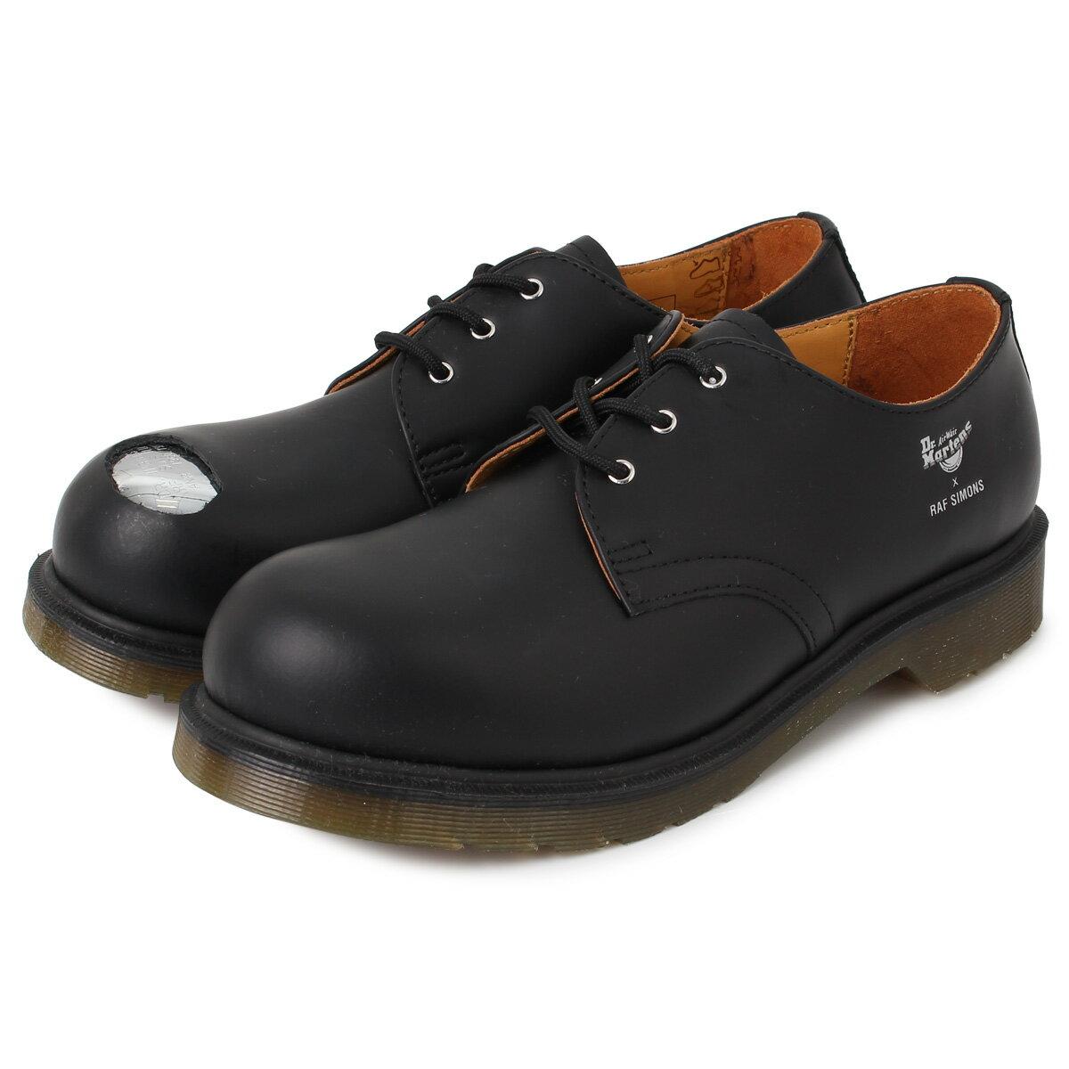 メンズ靴, その他 Dr.Martens RAF SIMONS ASYMMETRIC CUT OUT STEEL TOE SHOE 3 192-937D