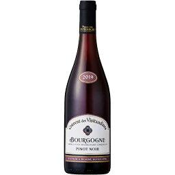 ■お取寄せ クーヴァン デ ヴィジタンディ−ヌ ブルゴーニュ ピノ ノワール [2019] ≪ 赤ワイン ブルゴーニュワイン ≫