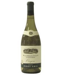 ■ウィラメットヴァレーヴィンヤーズ ピノグリ[2009]Willamette Valley Vineyards Pinot Gris[2...