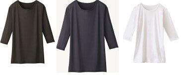 【七分袖インナーTシャツ】・WH90029・スクラブインナーTシャツ・肌着・インナーTシャツ・レディースインジャーTシャツ・メンズインナーTシャツ・