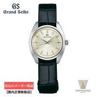 【送料無料】グランドセイコーGrandSeikoSBGF337クオーツクロコダイルベルト(ブラック)26.5mmカーブサファイアガラスレディース腕時計【正規保証3年】