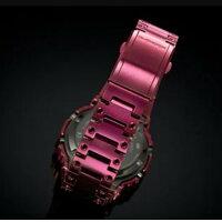【人気モデル】GショックG-SHOCKGMW-B5000RD-4JF赤フルメタルおしゃれカジュアルユニセックスプレゼント人気モデルスマートフォンリンクオリジンボルドーかわいい人気カラーファッション【正規品】【創業100年の時計店】