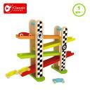 おもちゃ 誕生日 男 1歳半 1歳 2歳 F1 レース トラック スロープ スロープトイ 車 男の子 女の子 室内遊び 木のおもちゃ 木製 プレゼント 知育 乗り物 玩具 子供 赤ちゃん おしゃれ