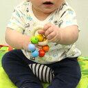 赤ちゃん 木のおもちゃ ハイメス ベビー ラトル (セブンボールズ) がらがら 誕生日 お祝い ガラガラ 知育玩具 6ヶ月 3ヶ月 1歳 0歳 男の子 女の子 音が鳴るおもちゃ 室内遊び 2