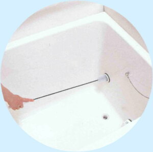 清潔ブラシが直接届いて、汚れを元からお掃除風呂釜パイプクリーナー