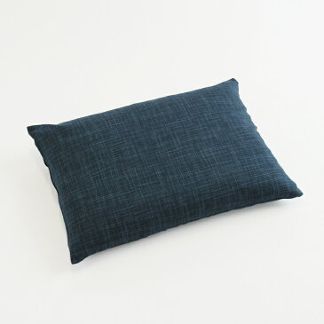 そばがら枕 なごみ こい藍色