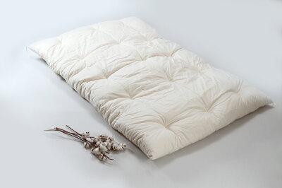 職人手作り【敷布団】ダブルサイズ(インド綿100%)◎綿ブロード生地