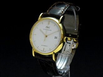 アイダブルシー - IWC - Schaffhausen Automattic 18 KYG solid / leather automatic self-winding men