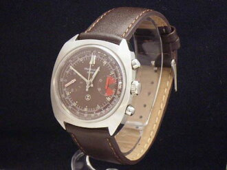 Fabre louvers - FAVRE LEUBA - chronograph ランデロン 248 antique hand winding SS / leather men's