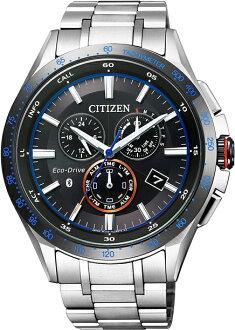 BZ1034-52EシチズンエコドライブブルートゥースBluetoothスマートウォッチ腕時計クロノグラフメンズ男性用
