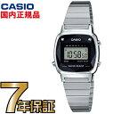 CASIO カシオ 腕時計 デジタル LA670WAD-1JF ダイヤモンド付き 限定モデル レディ...
