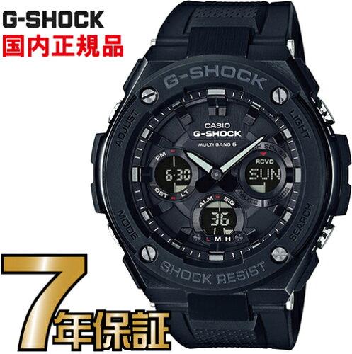 G-SHOCK Gショック GST-W100G-1BJF アナログ 電波 ソーラー G-STEEL Gスチール カシオ 国内正規品 ...