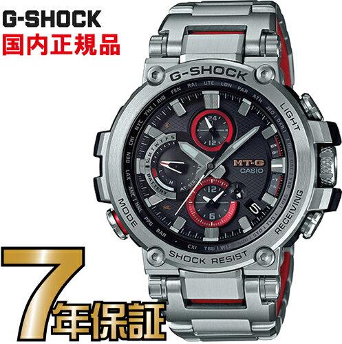G-SHOCKGショックMTG-B1000D-1AJFアナログブルートゥース電波ソーラースマートフォンリンクMT-Gカシオ