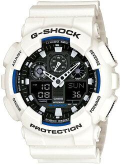 G-SHOCKGショックGA-100B-7AJFCASIO腕時計【国内正規品】メンズ【送料無料】8月新作ワイドフェイスが好評のアナログとデジタルのコンビネーションモデル【smtb-MS】