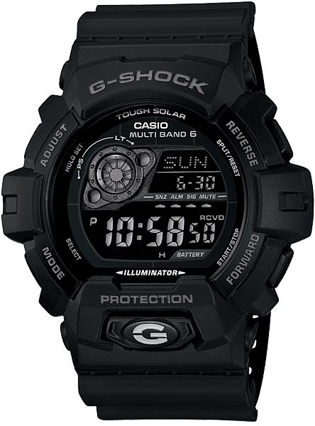 G-SHOCK GW-8900A-1JF Gショック 電波時計 タフソーラー 電波 ソーラー カシオ 腕時計 ブラック 電波腕時計 メンズ ソーラー電波時計 ジーショック 基本機能を追求した新しいスタンダード