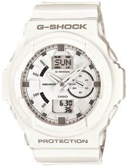 G-SHOCKGショックGA-150-7AJFホワイトCASIO腕時計【国内正規品】メンズ【送料無料】人気の大型ケースを採用したデジタルとアナログのコンビネーションモデルが新たに登場
