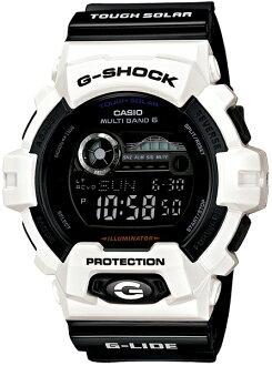 G-SHOCKGショックGWX-8900B-7JFカシオ電波時計タフソーラー電波ソーラー腕時計電波腕時計ジーショック【30%OFFで、しかも送料無料&代引手数料込み】カシオ正規品「G-LIDE(Gライド)」の'12夏モデルが新型で登場