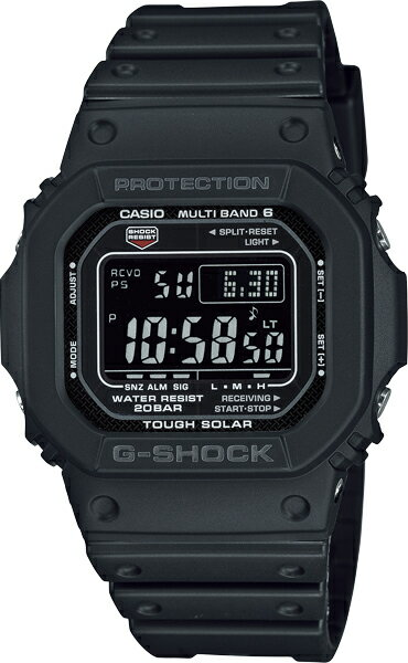 G-SHOCK Gショック GW-M5610-1BJF 5600 ブラック タフソーラー デジタル 電波時計 カシオ 電波 ソーラー 腕時計 電波腕時計 メンズ ソーラー電波時計 ジーショック 電波 ソーラー TheG