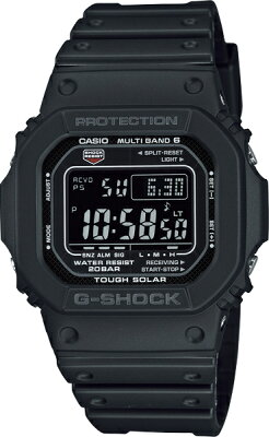 G-SHOCK Gショック GW-M5610-1BJF 5600 ブラック タフソーラー デジタル 電波時計 カシオ 電波 ソーラー 腕時計 電波腕時計 【国内正規品】 メンズ ソーラー電波時計 ジーショック 【送料無料】 電波 ソーラー TheG・・・ 画像2