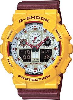 G-SHOCKGショックアナログGA-100CS-9AJFCASIO腕時計【国内正規品】メンズ【送料無料】ストリートシーンで人気のビッグケースを採用したデジタルとアナログのコンビネーションモデ「CrazyColors(クレイジーカラーズ)」に、Newモデルが登場