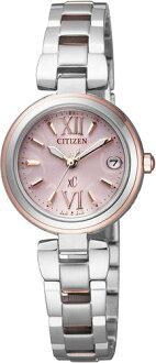 シチズンクロスシーES8134-52Wミニソルエコドライブ電波CITIZENレディース腕時計【送料無料&手数料込み】【レビューで3年保証】