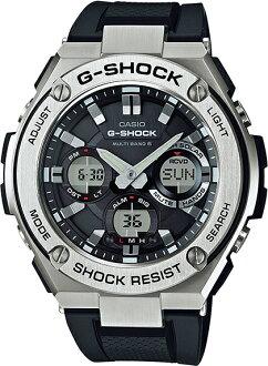 G-SHOCKGショックGST-W110-1AJFアナログ電波ソーラーG-STEELGスチールカシオ