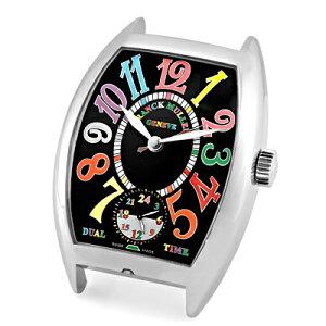 【新品】フランクミュラー 置時計 アラームクロック デュアルタイム ブラック文字盤 カラード...