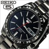 セイコー腕時計[ SEIKO時計 ]( SEIKO 腕時計 セイコー 時計 セイコー 5 SEIKO 5 セイコーファイブ メンズ ブラック SNKE03KC[プレゼント ギフト][卒業 入学 就職 祝い 中学生 高校生 大学生 社会人][あす楽]