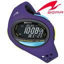 セイコーソーマ腕時計 SeikoSOMA時計(Seiko SOMA 腕時計 セイコー ソーマ 時計) ランワン (RunONE) ユニセックス 男女兼用時計 液晶 DWJ08-0003 トレーニング ランニングウォッチ ジョギング トライアスロン プレゼ