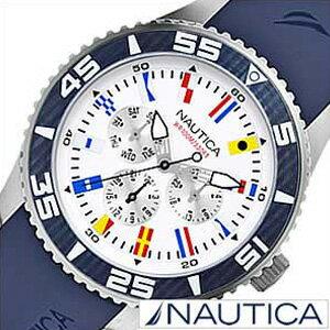 ノーティカ腕時計NAUTICA時計NAUTICA腕時計ノーティカ時計フラッグスポーツアクティブNST07SPORTACTIVEメンズ/ホワイトA12627G[アナログネイビーおしゃれ][送料無料][プレゼントギフト][ポイント10倍]