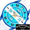 【おひとり様1点限り!】ロマゴデザイン腕時計 ロマゴ時計 ROMAGO DESIGN 腕時計 ロマゴ デザイン 時計 希少限定モデル アルゼンチン メンズ レディース ブルー ホワイト イエロー RM043-0412PL-AR[サッカー おしゃれ 国旗 アルビセレステス][プレゼント][B]