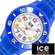 アイスウォッチ腕時計 Ice Watch時計 Ice Watch 腕時計 アイスウォッチ 時計 アイス ミニ ブルー ICE mini メンズ レディース ユニセックス ブルー MNBEMS[サマー スポーツ 親子ペア カジュアル おしゃれ][プレゼント ギフト][母の日][あす楽]
