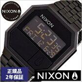 [正規品 2年保証]ニクソン腕時計 NIXON時計 nixon(ニクソン) 腕時計[ニクソン時計] リラン RE-RUN ALL BLACK メンズ ブラック NA158001-00[デジタル ブラック][送料無料][入学 就職 祝い プレゼント ギフト][あす楽]
