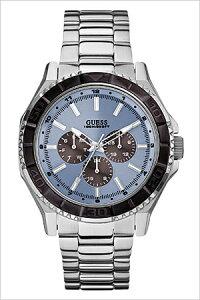 [ポイント10倍][送料無料]ゲス腕時計GUESS時計[GUESS腕時計]ゲス時計[ゲス腕時計]アンプラグドUNPLUGGEDメンズ/ブルーW0479G2[アナログ/ファッションウォッチ/ライトブルー/シルバー][プレゼント/ギフト]
