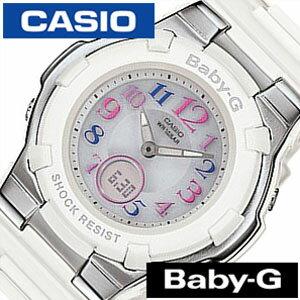 カシオ腕時計CASIO時計CASIO腕時計カシオ時計ベイビーGBABY-Gレディース/シルバーBGA-1100GR-7BJF[アナデジ/タフソーラー/電波時計/デジタル/液晶/防水/ホワイト/グレー/マルチカラー/ベビーG]