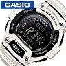 カシオ腕時計 CASIO時計 CASIO 腕時計 カシオ 時計 スタンダード STANDARD メンズ ブラック W-S220C-7BJF[デジタル タフソーラー 液晶 防水 ホワイト グレー][プレゼント ギフト][あす楽]
