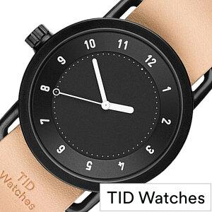 ティッドウォッチ腕時計TIDWatches時計TIDWatches腕時計ティッドウォッチ時計TIDメンズ/レディース/ユニセックス/男女兼用/ブラックTID01-BK-N[革ベルト/おしゃれ/防水/替え/北欧/アナログ/ベージュ/ブラウン/ホワイト]