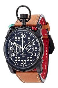 [送料無料][ポイント10倍]スクーデリア腕時計Scuderia時計CTScuderia腕時計スクーデリア時計コルサCORSAメンズ/ブラックCS20105[人気/新作/クロノグラフ/レザー/革/イタリア/防水/ブランド/ブラック/ブラウン/正規品]