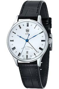 [送料無料][ポイント10倍]ドゥッファ腕時計DUFA時計DUFA腕時計ドゥッファ時計ヴァイマールWeimarGMTメンズレディースユニセックス/男女兼用/ホワイトDF-9006-02[ホワイト革ベルトアナログおしゃれ正規品ドイツ製バウハウスドッファデュッファ]
