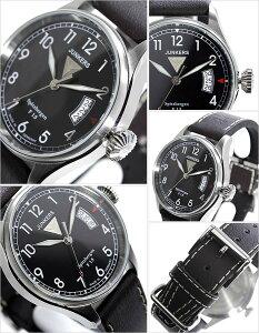 ユンカース腕時計JUNKERS時計JUNKERS腕時計ユンカース時計スピッツベルゲンSpitzbergenメンズ/ブラックJUN-6170-2[革ベルト/正規品/アナログ/シルバー/オールブラック/6170-2QZ][送料無料][新生活応援][ビジネス][プレゼント/ギフト]