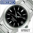 セイコー スピリット 腕時計 SEIKO 時計 SPIRIT SEIKO 腕時計 セイコー時計 メンズ ブラック SBTM217[メタル ベルト 正規品 防水 ソーラー 電波 シルバー チタン モデル][送料無料][プレゼント ギフト][あす楽]