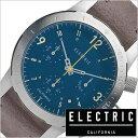 エレクトリック 腕時計 ELECTRIC時計 ELECTRIC 腕時計 エレクトリック 時計 FW02 NATO メンズ レディース ブルー FW2N2-BLGY 正規品 人気 ブランド トレンド スエード レザー 革 クロノグラフ シルバー グレー プレゼント ギフト 父の日